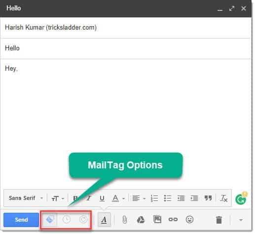 mailtag options