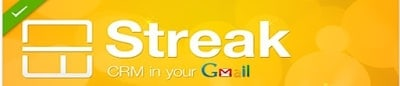 Streak track emails gmail crm