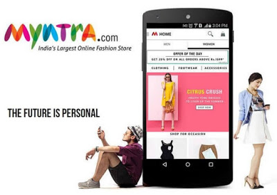 Myntra android app