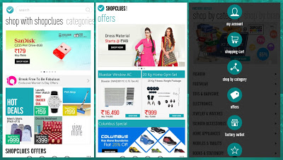 Shopclues android app