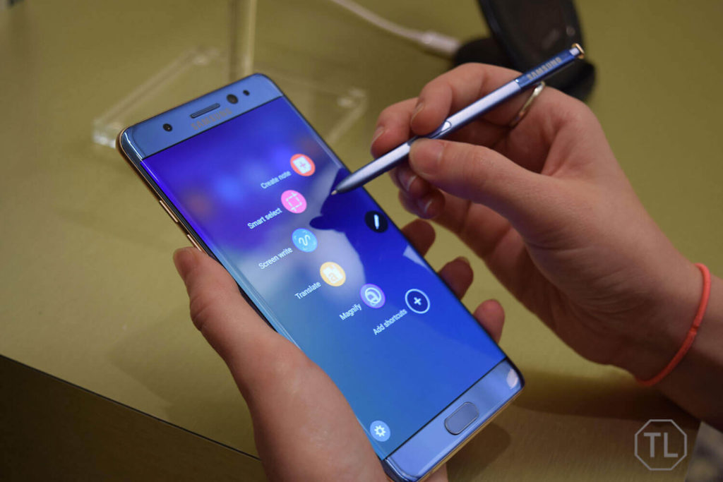 Galaxy Note 7 S-pen