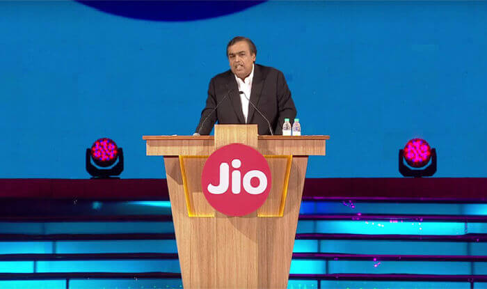 Reliance Jio Announcement