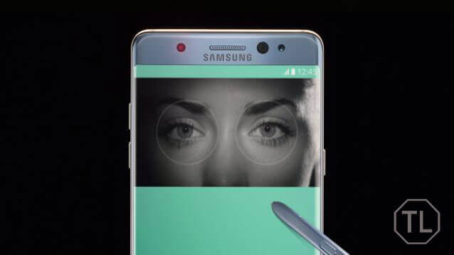 Galaxy Note 7 Iris Scanner
