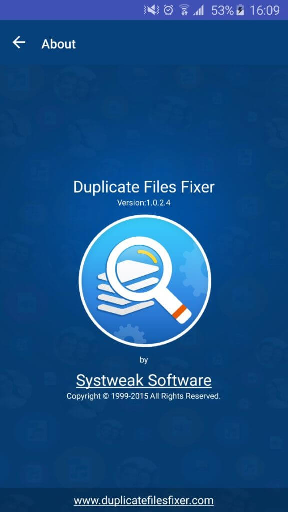 About Duplicate Files Fixer