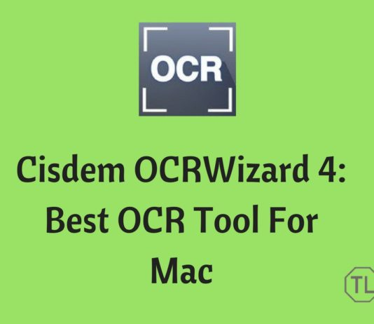 Cisdem OCRWizard 4 Review