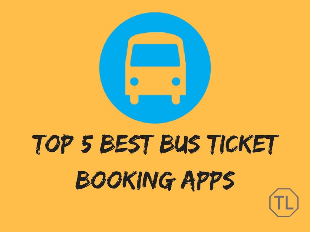 Top 5 Best Bus Ticket Booking Apps