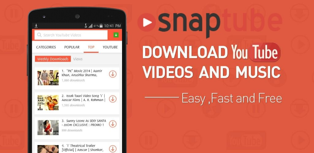 SnapTube App - Video and Audio Downloader