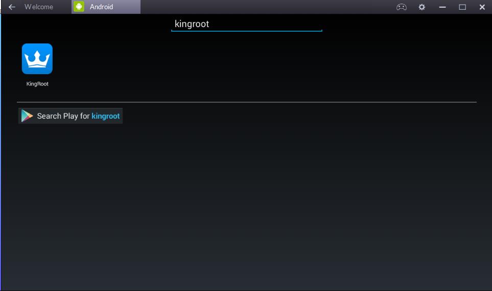 Serach kingroot app