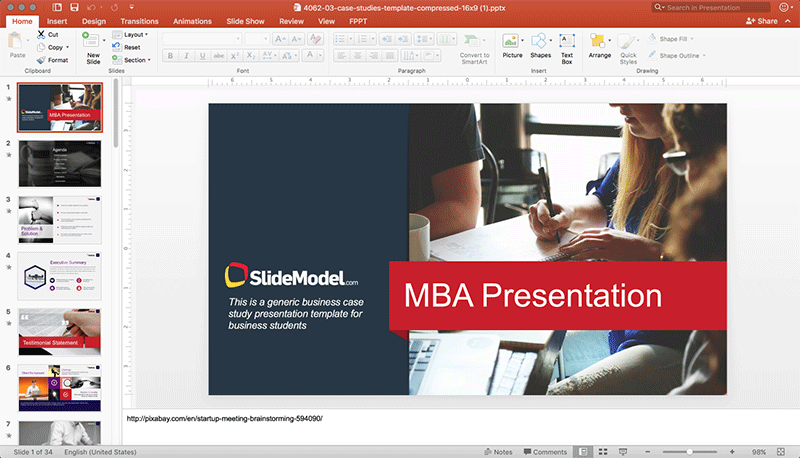 Slidemodel powerpoint templates