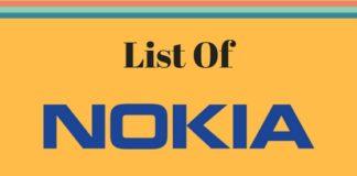 List Of Nokia smartphones