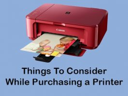 things to consider while purchasing a printer
