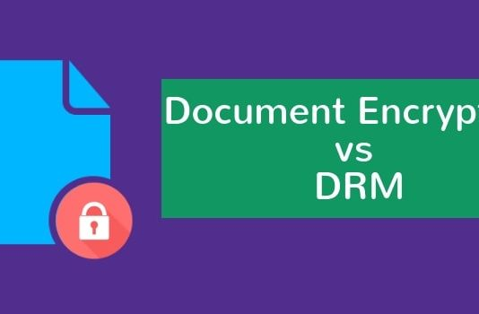 Document Encryption vs DRM