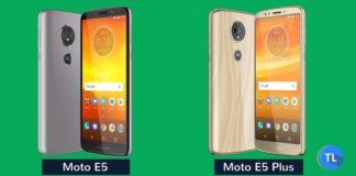 Moto E5 and Moto E5 Plus