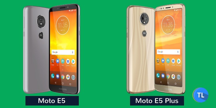Moto E5 and Moto E5 Plus