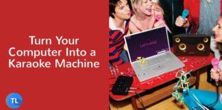 Turn your pc into a karike machine