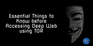 things to consider before accessing deep web