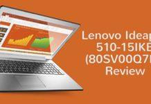 Lenovo Ideapad 510 15IKB 80SV00Q7IH