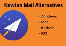newton mail alternatives