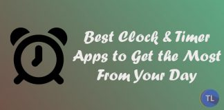 Clock and timer apps