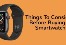 Things to consider before buying smartwatch