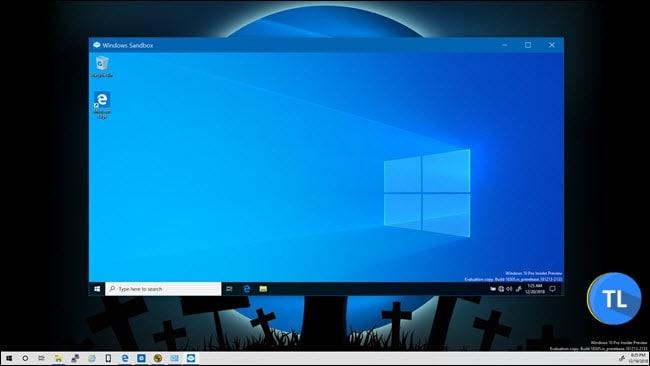 Windows 10 sandbox mode