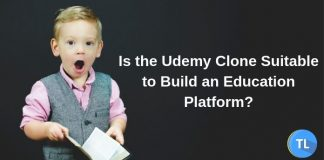 Is udemy clone good for education platform