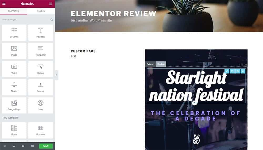 Elementor Review: Popular and Best WordPress Page Builder