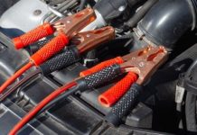 Check for damaged car battery